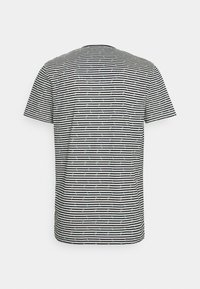 TOM TAILOR - SHORTY V-NECK - Pyjamas - dark blue/white - 1