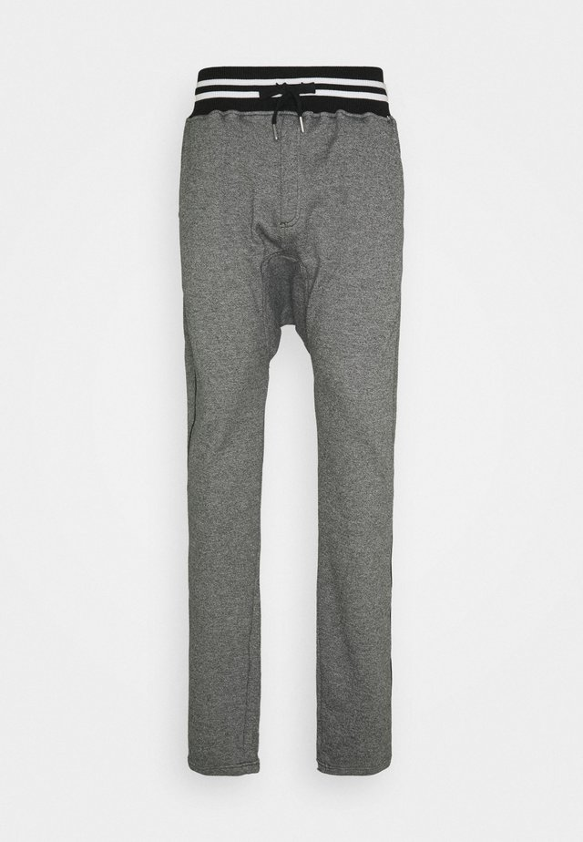PAUL - Tracksuit bottoms - heather black