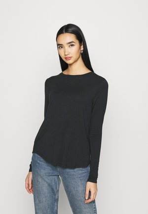 EASY CREW - Langærmede T-shirts - black
