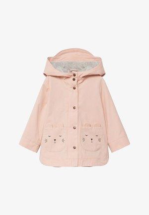 BONIE - Zip-up hoodie - hellrosa
