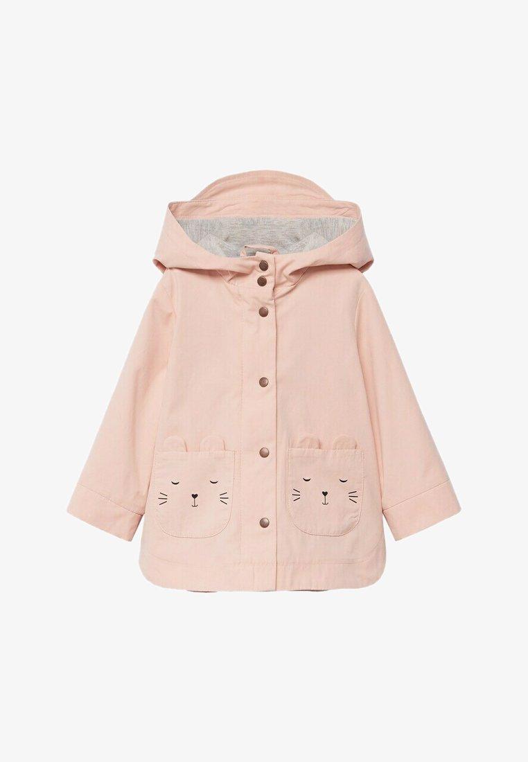 Mango - BONIE - Zip-up hoodie - hellrosa
