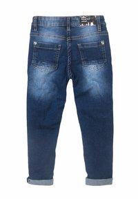 MINOTI - SEQUINS PATCHES - Jeans baggy - blue denim - 2