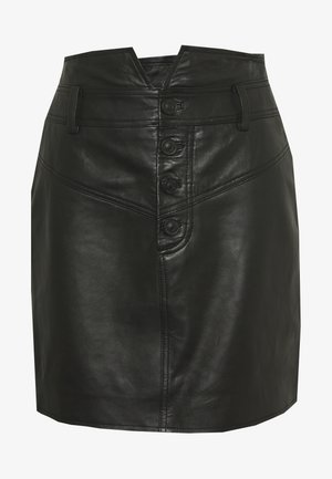 WESTERN SKIRT - Pencil skirt - black