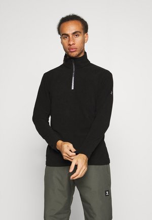 TENNO MENS  - Fleecepullover - black