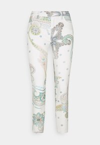 Desigual - PANT CANTON - Skinny džíny - white - 0