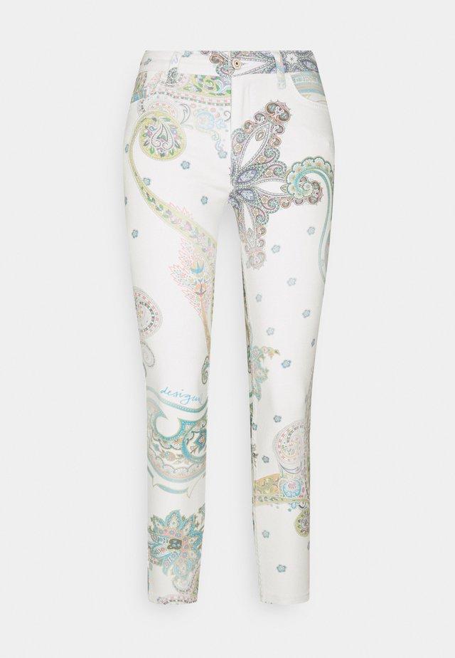 PANT CANTON - Skinny džíny - white