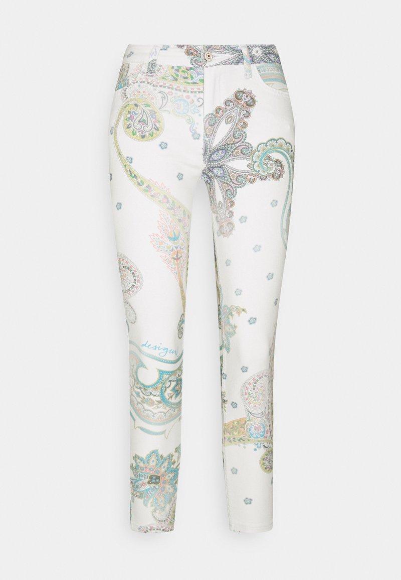 Desigual - PANT CANTON - Jeans Skinny - white