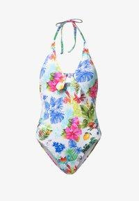 Desigual - HONOLULU - Swimsuit - white - 4