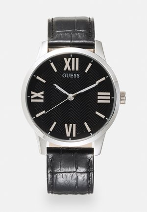 CAMPBELL - Hodinky - black/silver-coloured