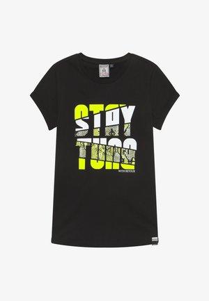 ROBYN - Print T-shirt - black