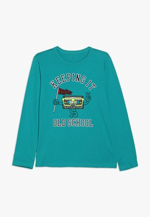 BOY OCT VALUE - Long sleeved top - green mirage