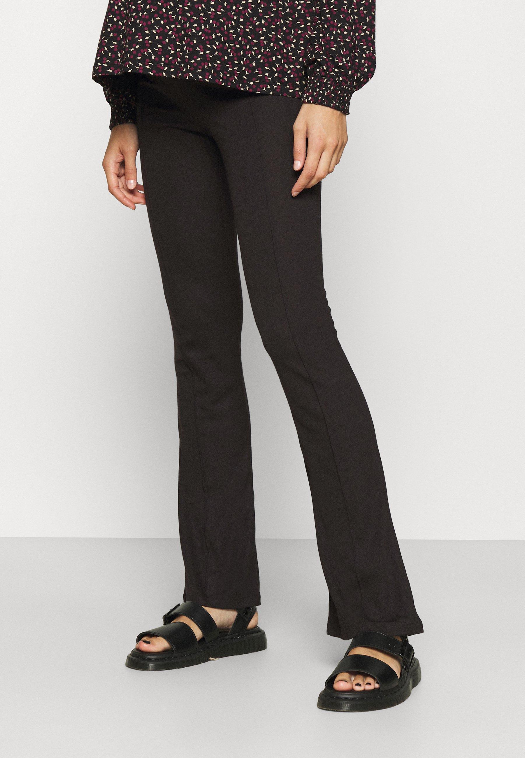 Femme MLLUNA PINTUC FLARED PANT - Pantalon classique