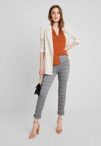 mint&berry - Button-down blouse - caramel cafe - 1