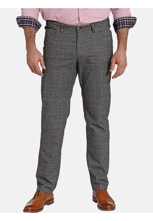 Trousers - grau kariert