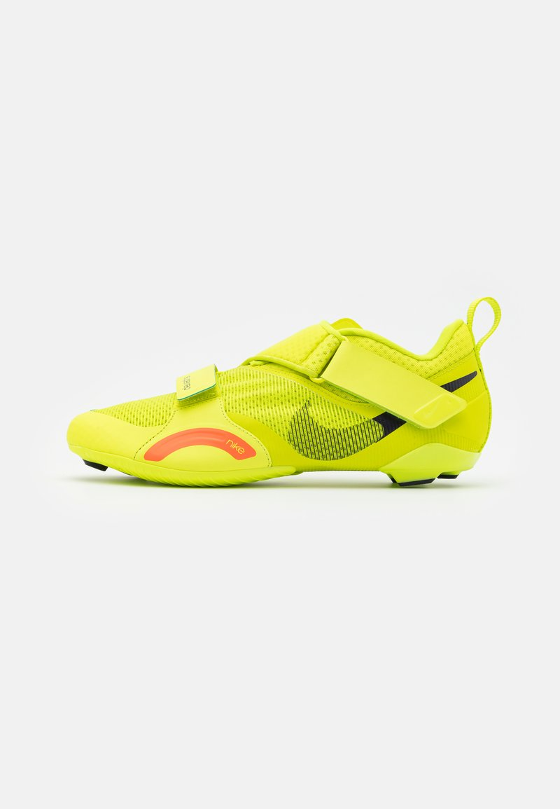 Nike Performance - SUPERREP CYCLE - Cycling shoes - cyber/blackened blue/bright mango