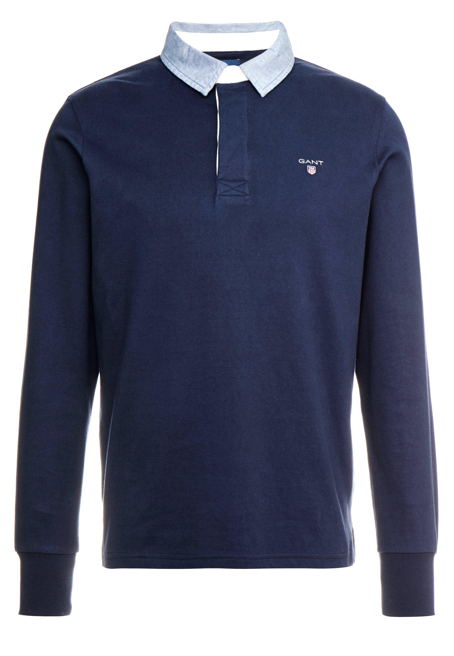 GANT THE ORIGINAL HEAVY RUGGER - Pullover - evening blue