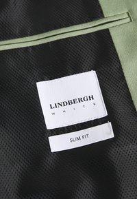 Lindbergh - PLAIN MENS SUIT - Kostym - dusty army - 9