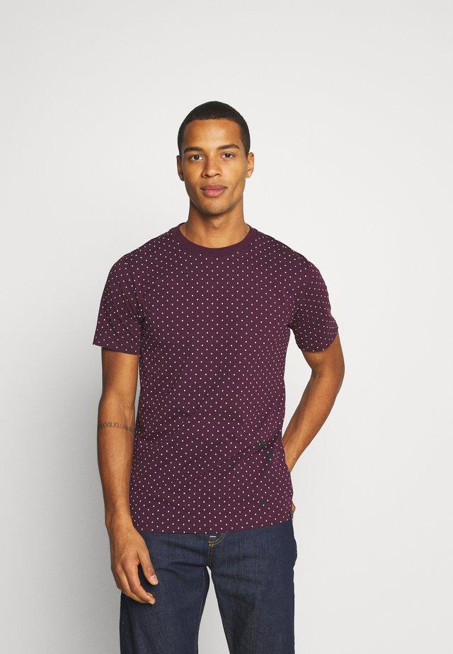 CREW NECK TEE - Print T-shirt - combo