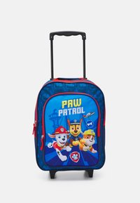 Fabrizio - PAW PATROL KIDS TROLLEY UNISEX - Wheeled suitcase - navy blue - 0