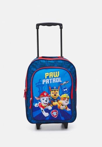 PAW PATROL KIDS TROLLEY UNISEX - Wheeled suitcase - navy blue