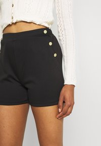 Vila - VITINNY BUTTON - Shorts - black - 3