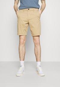 Hollister Co. - Shorts - light khaki - 0
