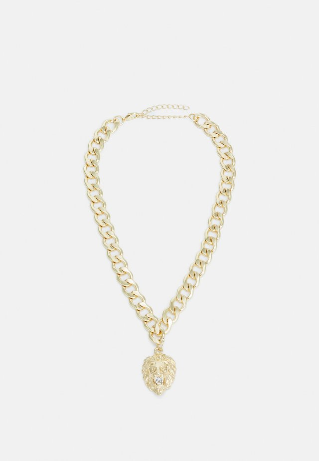 LION BASIC NECKLACE - Collana - gold-coloured