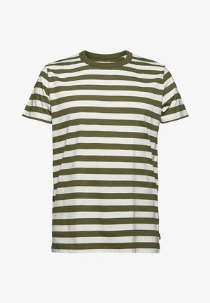 FASHION  - Print T-shirt - dark khaki