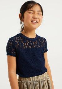 WE Fashion - T-shirt print - dark blue - 1