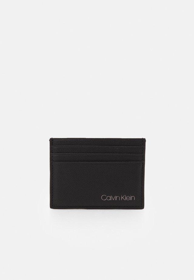 CARDHOLDER UNISEX - Lompakko - black