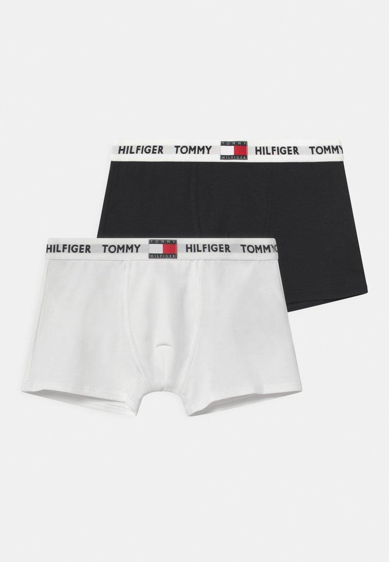 Tommy Hilfiger - TRUNK 2 PACK - Pants - white/desert sky