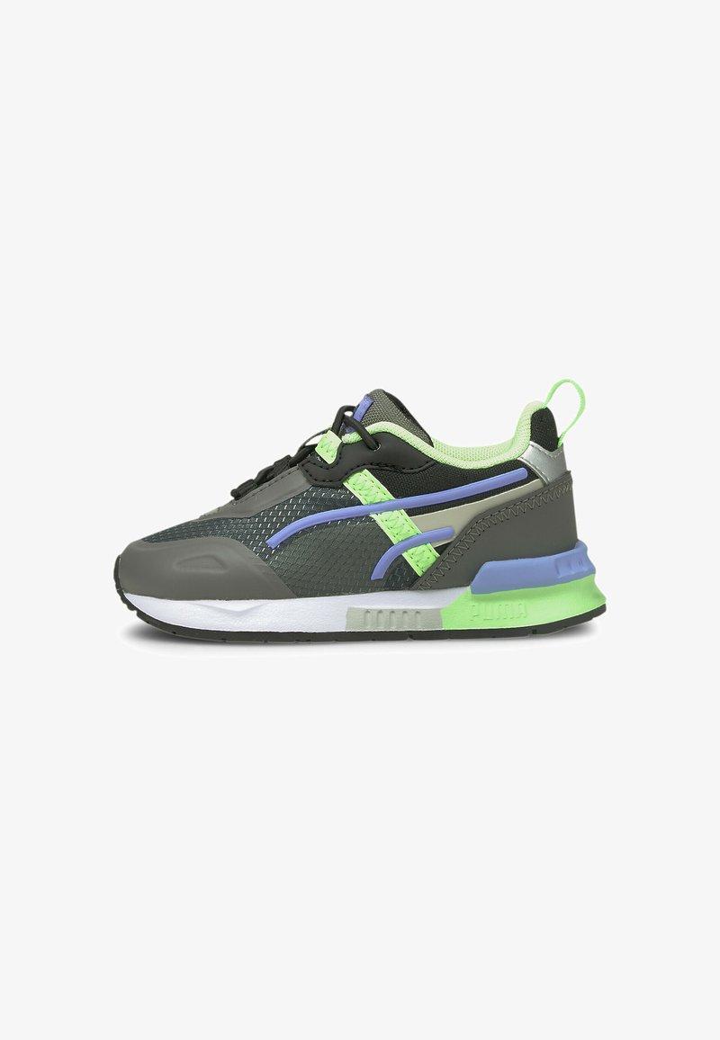 Puma - MIRAGE TECH BABIES' - Sneakers - castlerock-elektro green