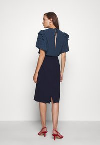 IVY & OAK - PENCIL SKIRT - Pencil skirt - navy blue - 2