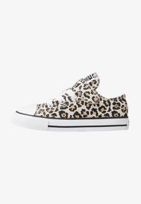 Converse - CHUCK TAYLOR ALL STAR LEOPARD PRINT - Sneakers - black/driftwood/light fawn - 1