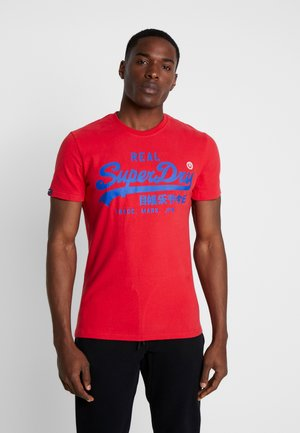 T-shirt con stampa - lollipop red