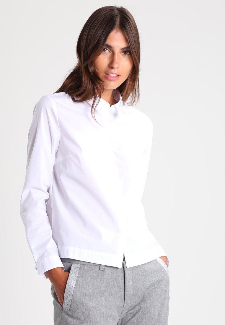 Opus - FULBA - Button-down blouse - white