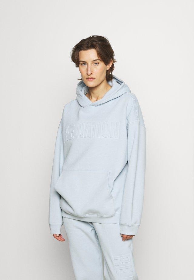 FADEAWAY HOODIE - Sweater - blue pale