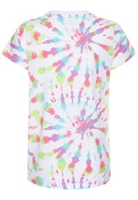 J.CREW - TIE DYE GRAPHIC TEE  - Print T-shirt - faded neon - 1