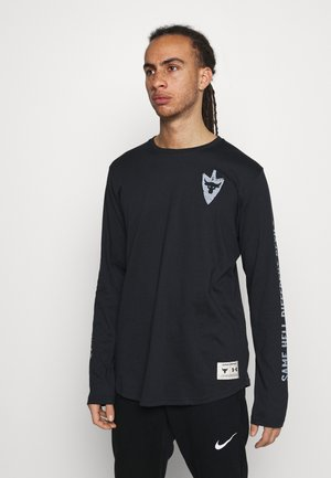 PROJECT ROCK SAME GAME - Long sleeved top - black