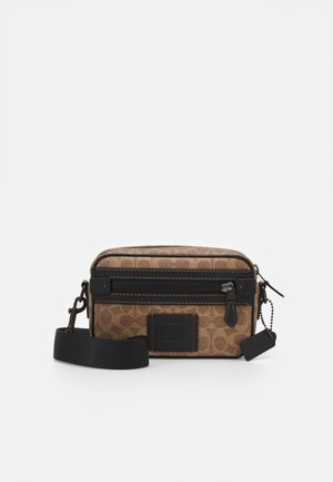 SIGNATURE ACADEMY CROSSBODY UNISEX - Across body bag - khaki