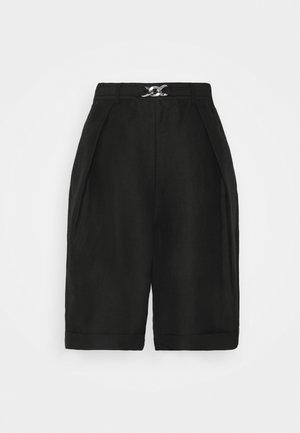 SUIT PANTS - Shorts - black