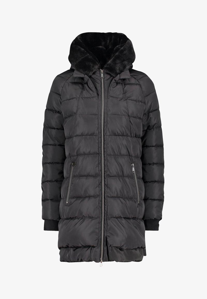 Cartoon - MIT KAPUZE - Winter coat - schwarz