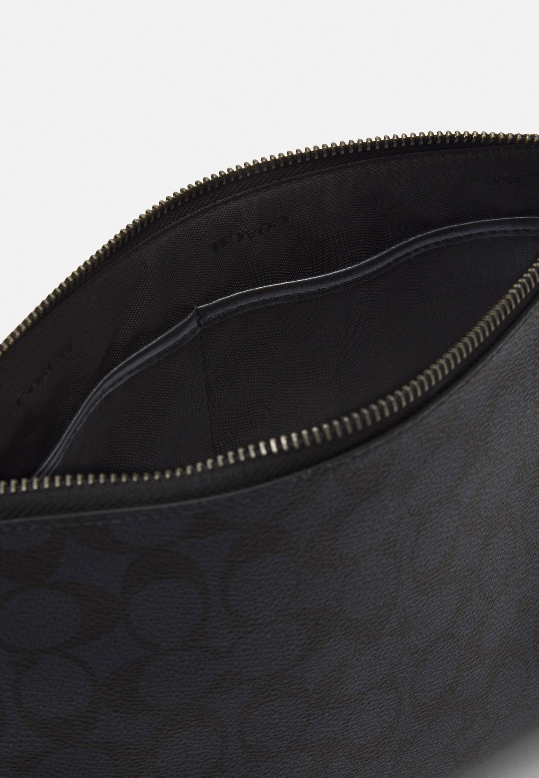 Coach ACADEMY POUCH IN SIGNATURE - Notebooktasche - midnight/dunkelblau - Herrentaschen i1fhj