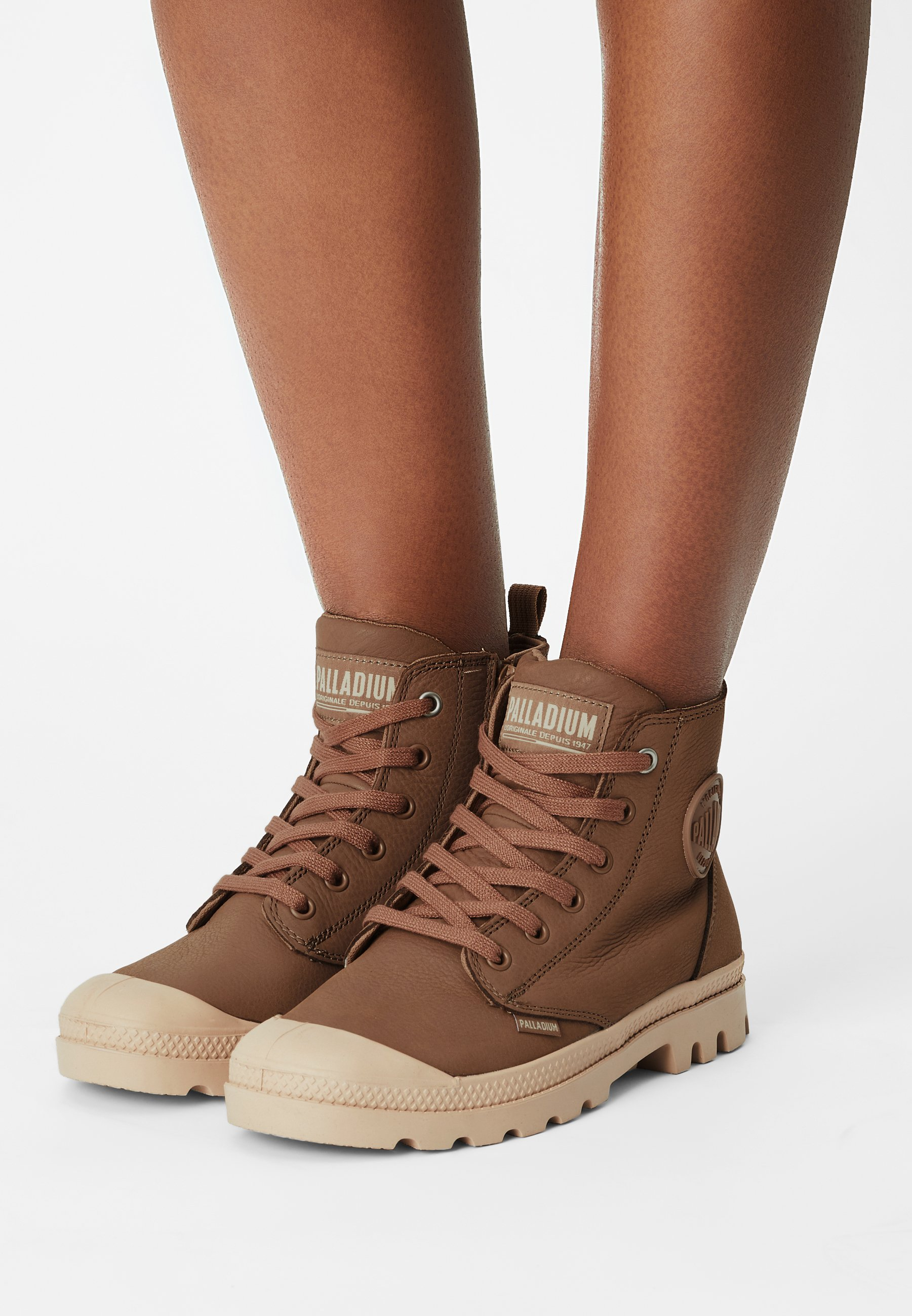 Women PAMPA HI ZIP - Lace-up ankle boots