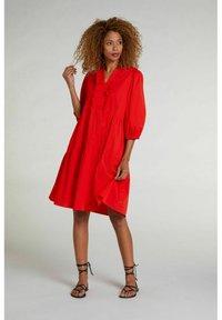 Oui - Day dress - fiery red - 1