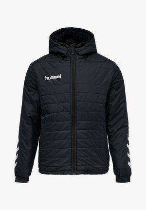 SHORT BENCH - Winter coat - black