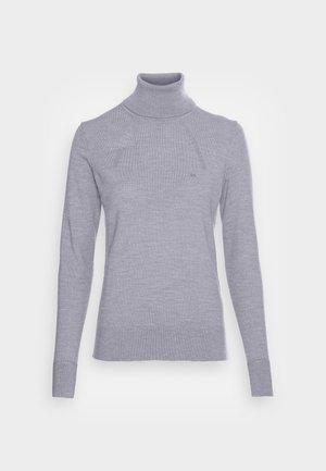 ROLL NECK - Jumper - medium grey heather