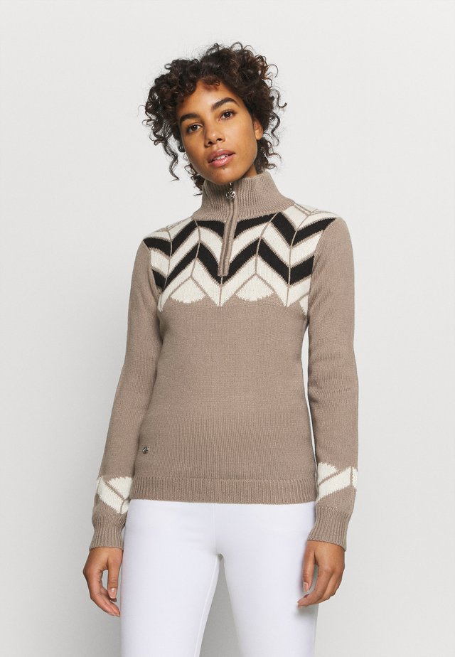 CARIN UNLINED - Maglione - hazel