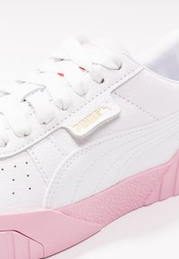 Puma - CALI - Baskets basses - white/pale pink - 2