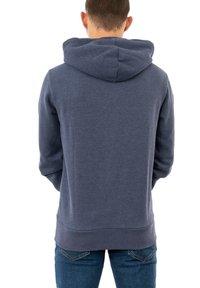 Superdry - Zip-up sweatshirt - bleu - 1